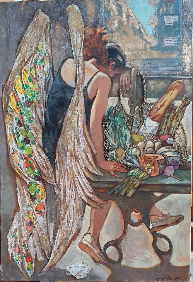 Картина «Ангел Парижа»