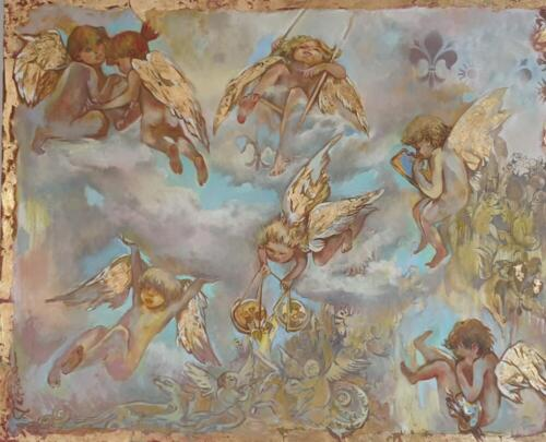 Ангелы -Защитники,  130х160
