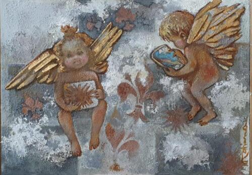 Ангелы на связи, 50х70