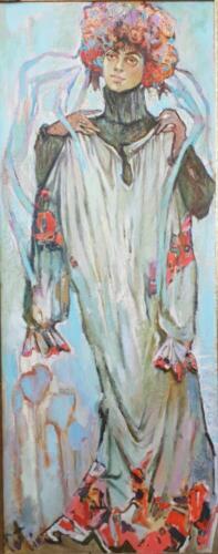 Бабушкино платье(Robe de grand-mère),164Х65,2006