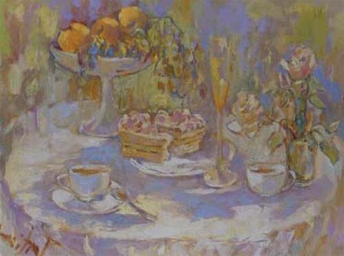 Завтрак,70Х90,2004,1116