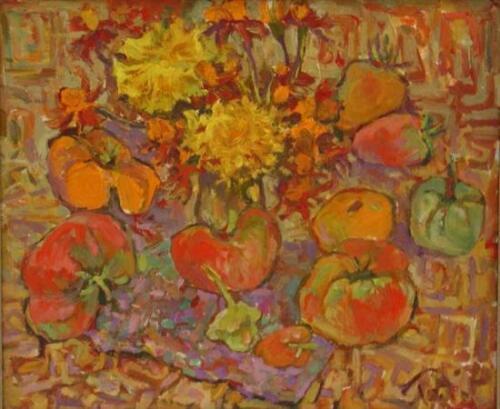 Киевские каникулы,Цветы тыквы,2005,1157