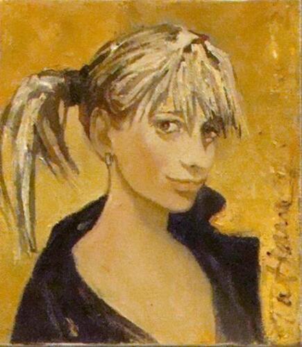 Мила,40Х50, 2008,1177