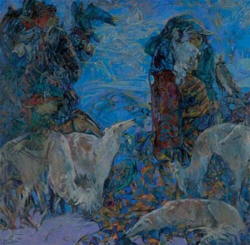 Охота царская, 1993-5,1021