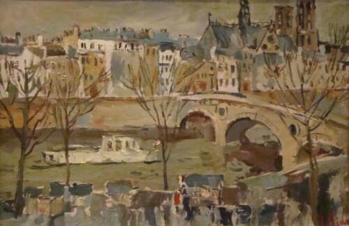 Парижский дневник.Набережная Сены.2009,1198