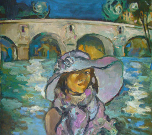 Парижский дневник. Pont Marie, 70Х80,2011