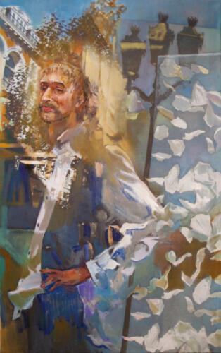 Портрет Дмитрия Северюхина, 150Х90,2013