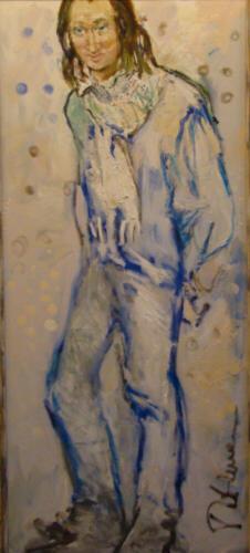 Портрет Юрия Гальцева (Трубадур),160Х60,2011