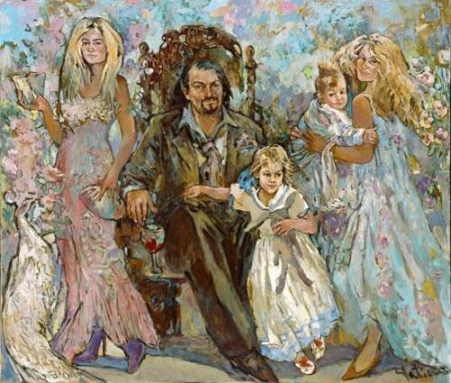 Семья,160Х180,2008