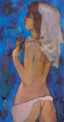 Танго-blue,70Х38,1999,1057