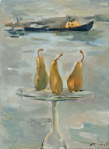 Три груши,85Х65,2006,1137