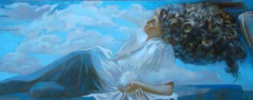 Что скажет небо ? (4) Аврора, 150Х60